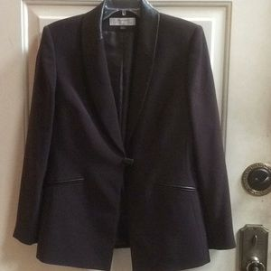💕 Tahari by Arthur Levine brown blazer jacket